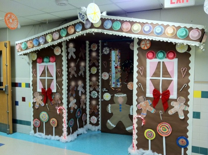 Door Decorations For Christmas Incredible Decor