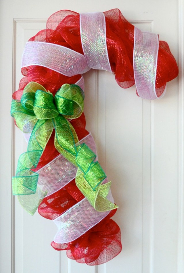 Lovely Door Decoration For Christmas