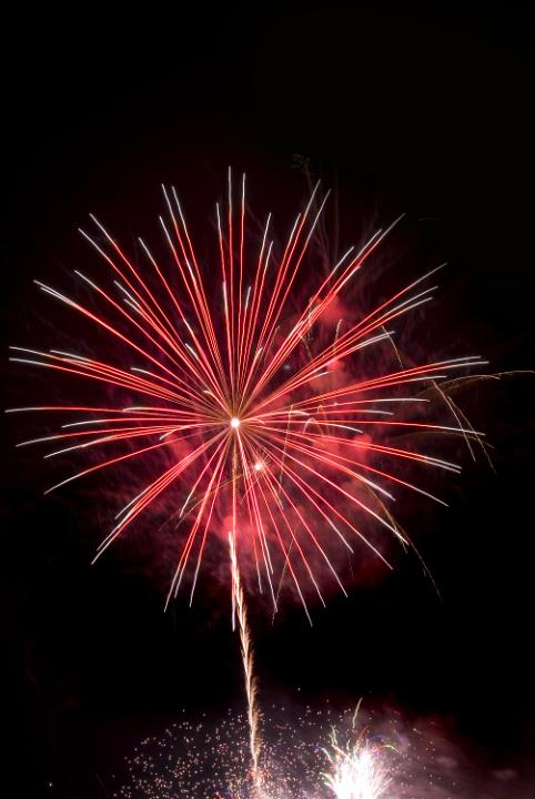 Photo of Red firework rocket  Free christmas images