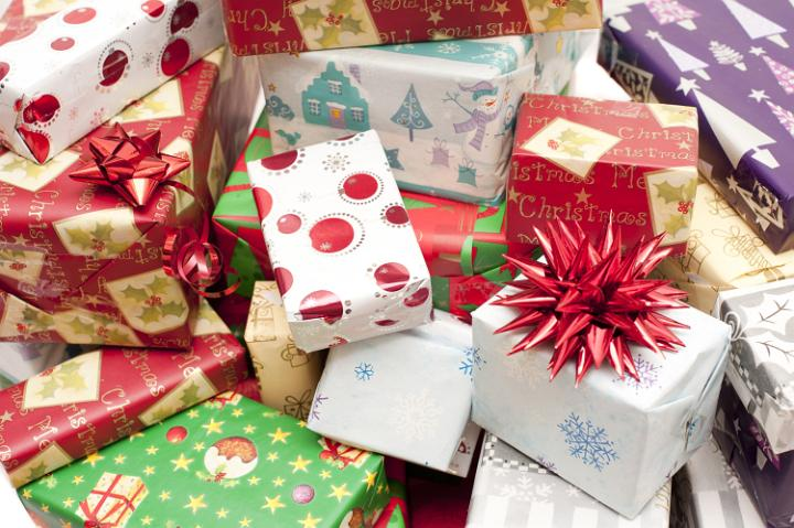 Photo Of Pile Of Colorful Assorted Christmas Gifts Free Christmas Images