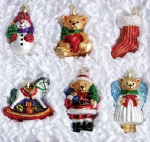Old World Child's Ornament Collection