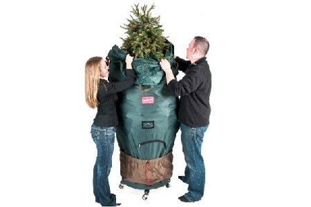 Christmas Tree Storage Bag on Wheels