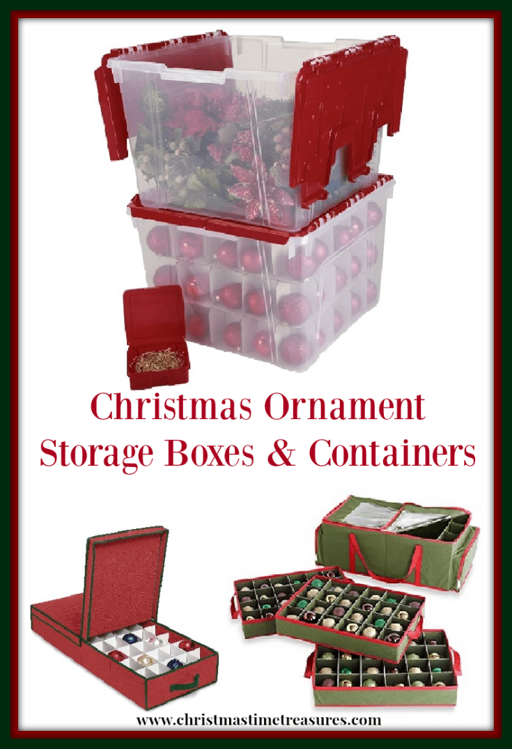 Christmas Ornament Storage