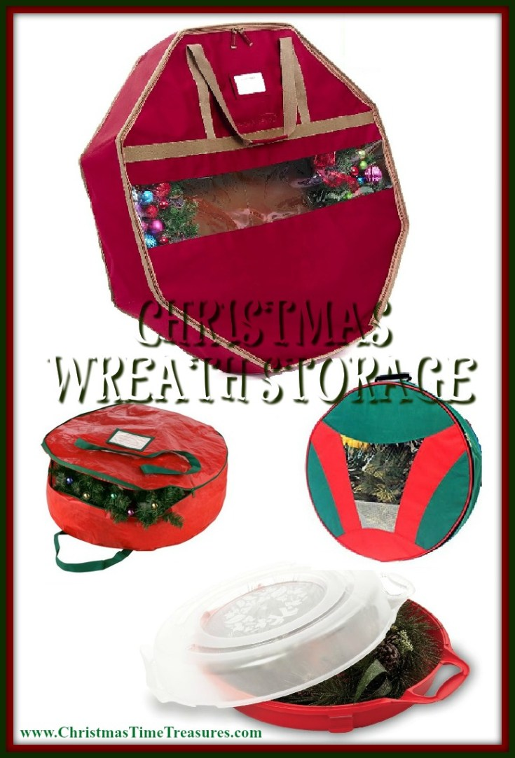 Christmas Wreath Storage Bags