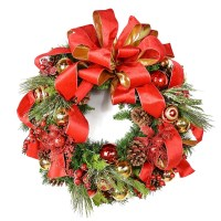 Christmas Wreaths for the Front Door ...