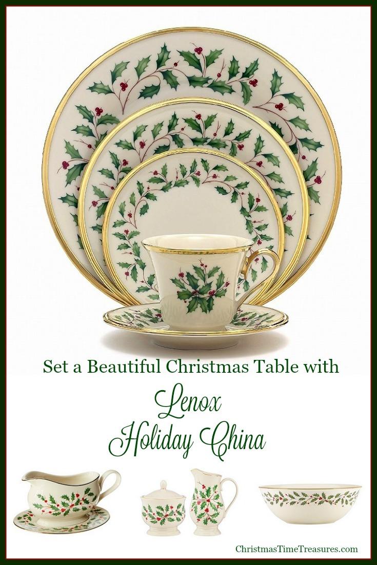 Holiday China by Lenox
