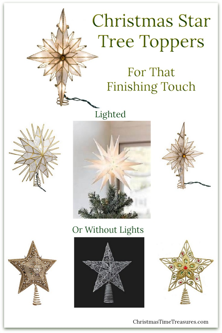 Christmas Tree Toppers - Stars