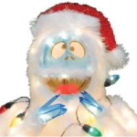 Bumble Abominable Snowman Christmas Yard Decoration