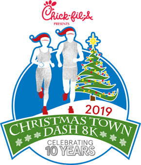 Christmas Town 2019.Christmas Town Dash 8k Run Through Busch Gardens
