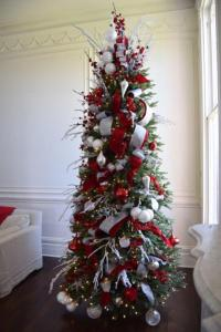 Red, White, and Sparkle Christmas Tree - Christmas Tree ...