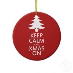 keep calm and xmas on