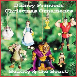 disney beauty and the beast christmas ornaments - Disney Beauty And The Beast Christmas Decorations