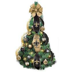 New Orleans Saints Christmas Ornaments.New Orleans Saints Christmas Ornaments Christmas Tree