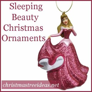Sleeping Beauty Christmas Ornament