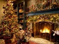 Christmas Living Room  Christmas Wallpaper ...