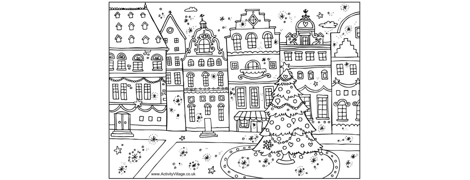 christmas book coloring pages | 12 free christmas coloring pages