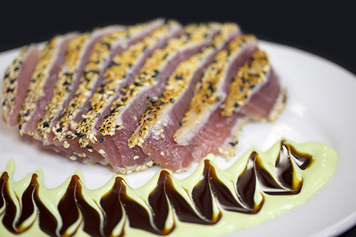 Christner's tuna on plate