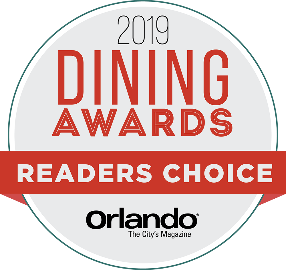 Orlando Magazine Dining Awards Readers Choice Logo