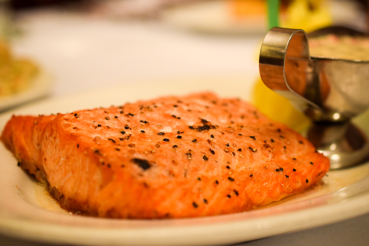 Image of Salmon main course