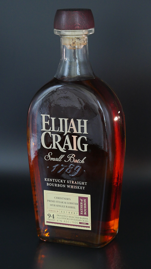 Elijaih craig christner's bottle