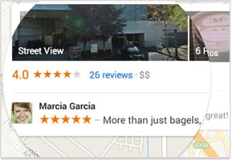 Google Endorsements Location
