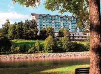 Aussenansicht Hotel in Oberwiesenthal