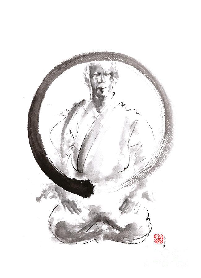 enso zen circle martial arts mariusz szmerdt - Enso cercle japonais : invitation à la méditation