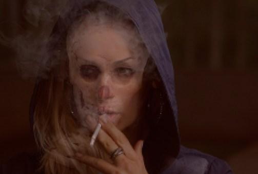 femme mort tabac