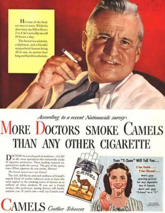 pub bienfaits de la cigarette