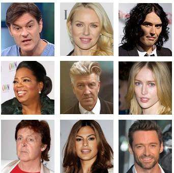 célébrités et méditation
