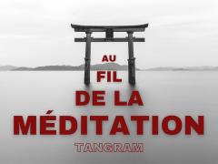 LOGO CHAINE AU FIL DE LA MEDITATION - Laurence Pillon