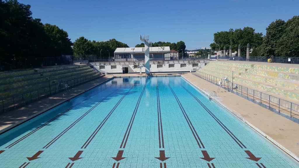 État d'avancement des nouvelles piscines de Gerland …