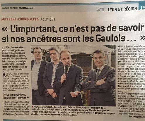 [Presse] Université régionale de rentrée de l'UDI dans la Loire
