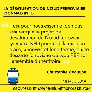 Voeu adopté à l'unanimité : La désaturation du nœud ferroviaire lyonnais (NFL) doit répondre aux besoins de mobilité des habitants et salariés de la Métropole de Lyon