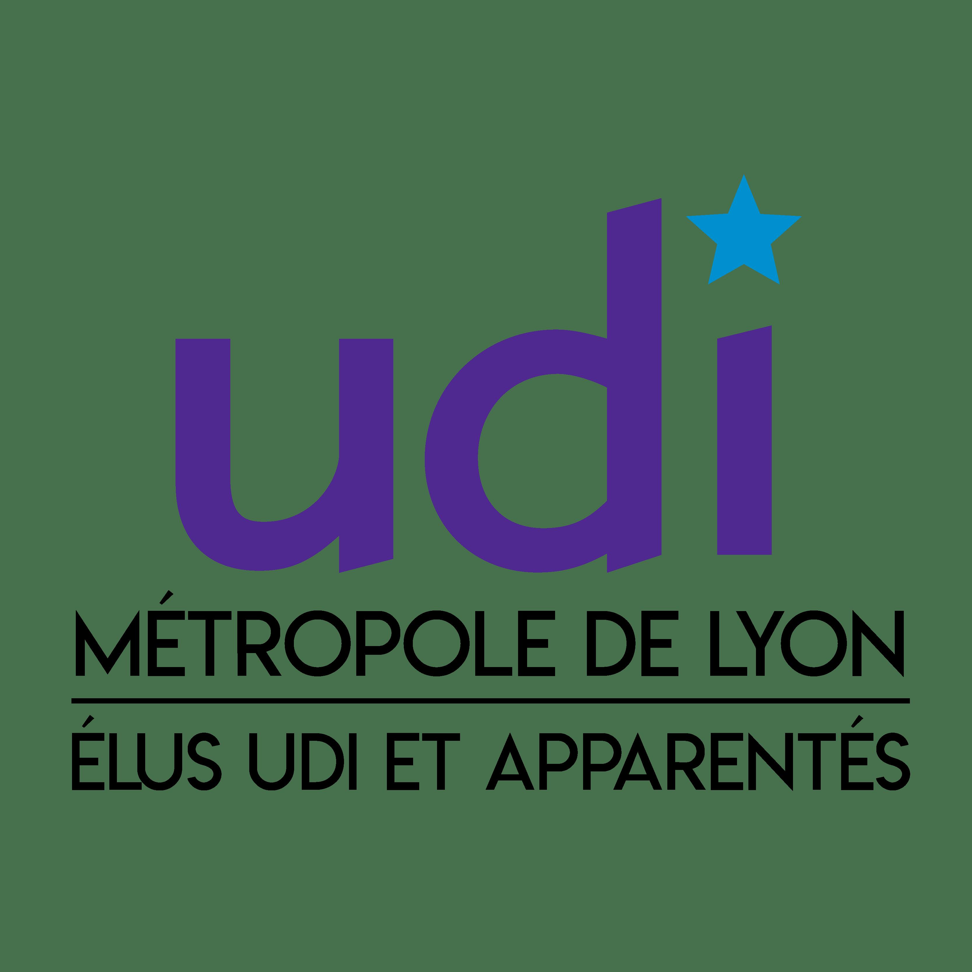 Logo groupe UDI et Apparentés Métropole de Lyon