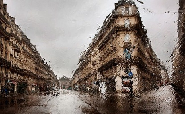 Paris In The Rain Christophe Jacrot Photography