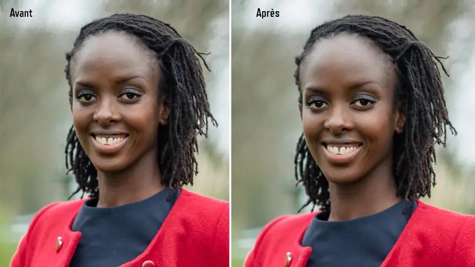 Avant après retouches peau portrait entreprise entrepreneur pro christophge lefebvre Photographe_1