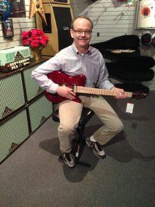 Inside Carvin Guitar 1