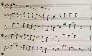 Parisienne Walkways Bass Melody