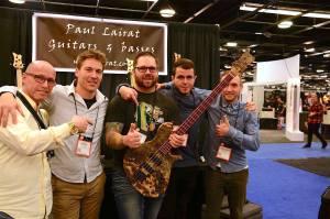 The team with new Paul Lairat artist Tyler Nachtmann!