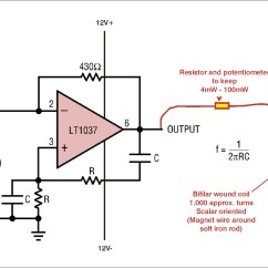 Wein Bridge Oscillator Circuit Diagram Rv Monitor Panel Wiring Schumann Frequency With Scalar Coil