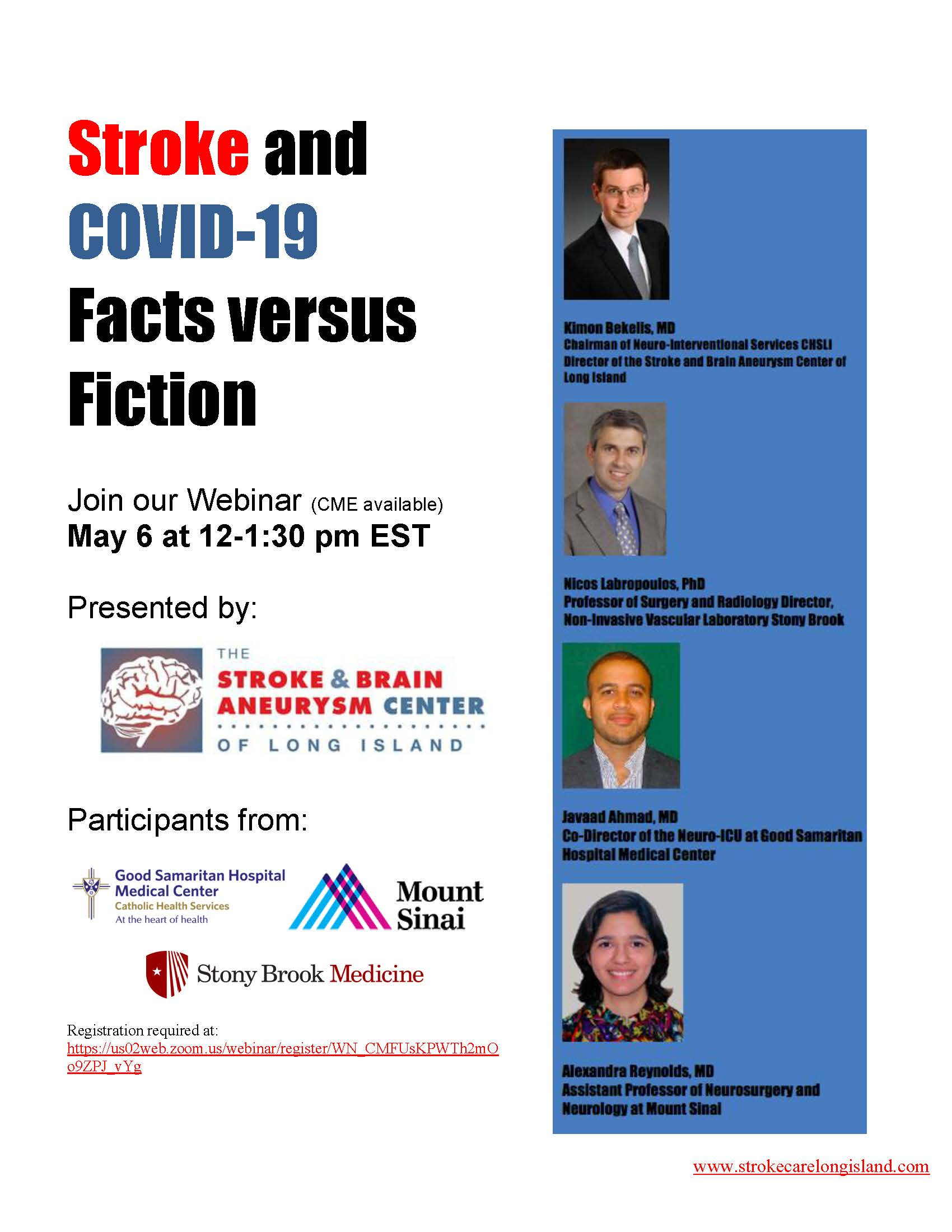 COVID-19 and Stroke: Facts versus Fiction