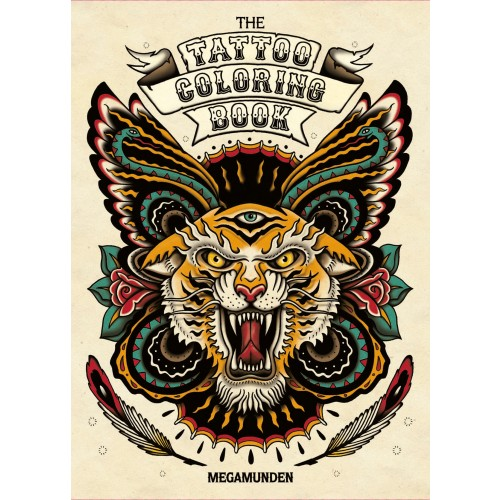 MEGAMUNDEN The Tattoo Coloring Book CHRISCLANCY