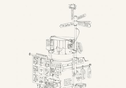 Illustration, art direction & design by Sydney based