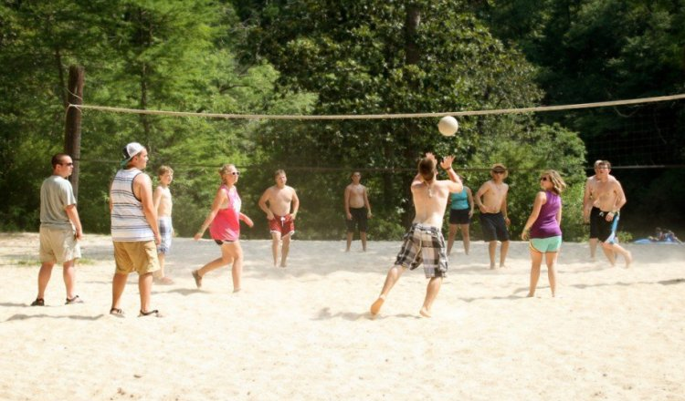 Volleyball in Christopher Creek