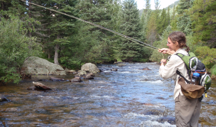 Fly Fishing in Christopher Creek