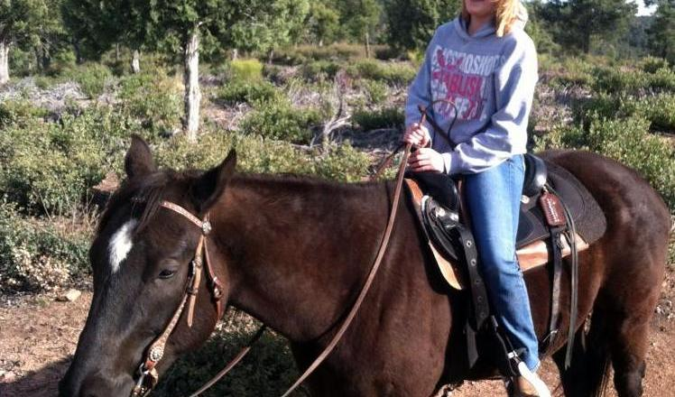 Horseback Riding in Christopher Creek