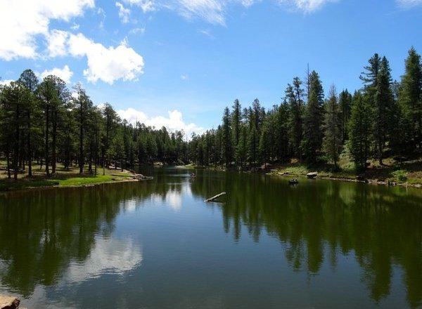 Woods Canyon Lake near Christopher Creek