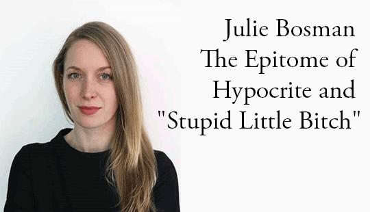 Julie-Bosman-Epitome-of-Hypocrite-and-Stupid-Little-Bitch