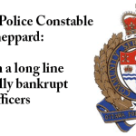 Theiving Ottawa Police Constable Todd Sheppard